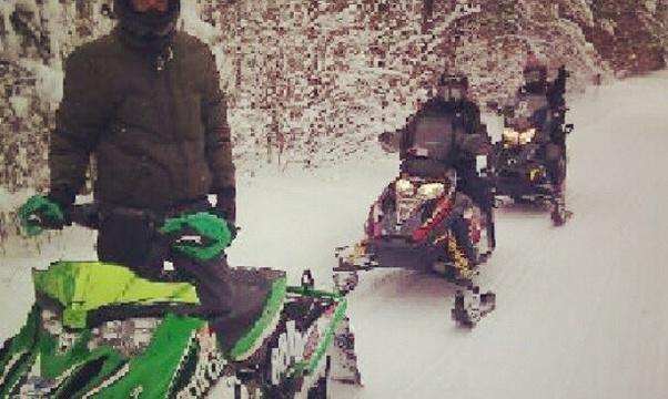 Ride a snowmobile - Bucket List Ideas