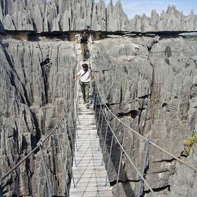 Visit the Tsingy de Bemaraha Crossing - Bucket List Ideas