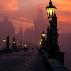 Visit the St Charles Bridge in Prague - Bucket List Ideas