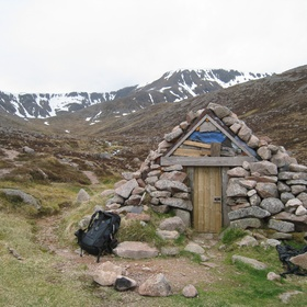 Sleep out in a remote Bothy - Bucket List Ideas