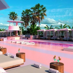 Stay at a pink hotel | Ibiza | Spain - Bucket List Ideas