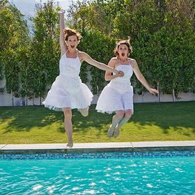 Jump into a pool fully clothed - Bucket List Ideas