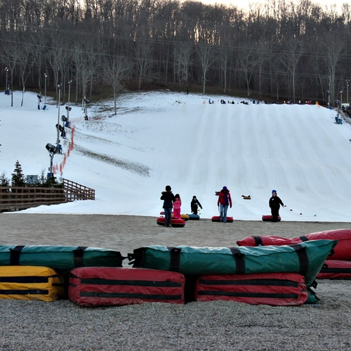 Skiing and Snow Tubing - Bucket List Ideas