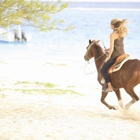Go horseback riding on the beach - Bucket List Ideas