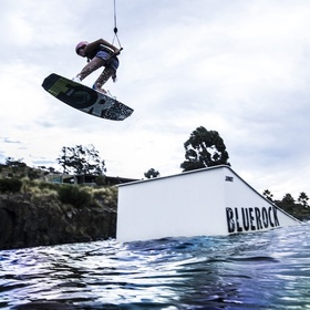 Wakeboarding at a cabel park - Bucket List Ideas