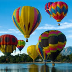 Ride a Hot Air Baloon - Bucket List Ideas