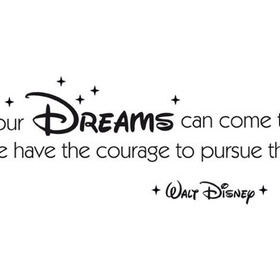 Get a disney quote Tattoo - Bucket List Ideas