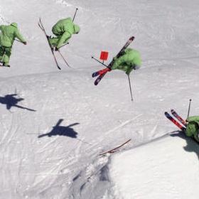 Land a 360 on Skis - Bucket List Ideas