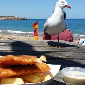 Eat Fish n Chips at the beach - Bucket List Ideas