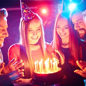 Go to a birthday party - Bucket List Ideas