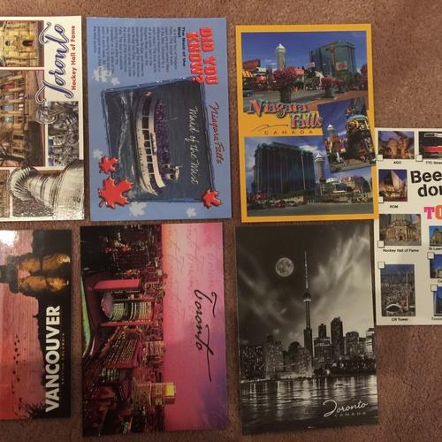 Send 5 postcards through post crossing - Bucket List Ideas
