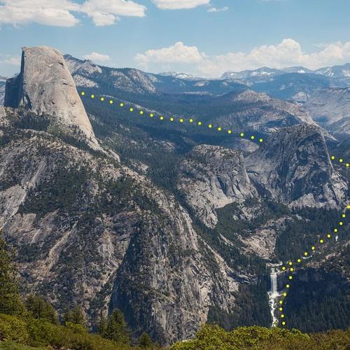 Hike Half Dome Yosemite California - Bucket List Ideas