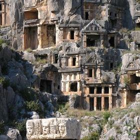 Visit the Lycian Rock-cut Tombs of Myra Turkey - Bucket List Ideas