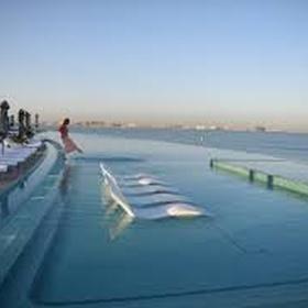 Swim in an infinity pool - Bucket List Ideas