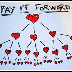 Pay It Forward - Bucket List Ideas