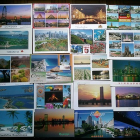 Receive a postcard from ten people on bucketlist - Bucket List Ideas