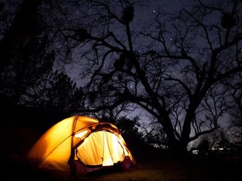 Go On A Romantic Camping Trip