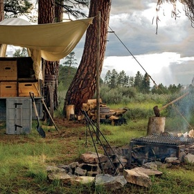 Experience a Chuckwagon Dinner at the Resort at Paws Up in Montana - Bucket List Ideas
