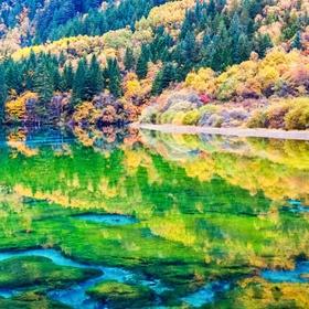 Explore Jiuzhai Valley National Park in China - Bucket List Ideas