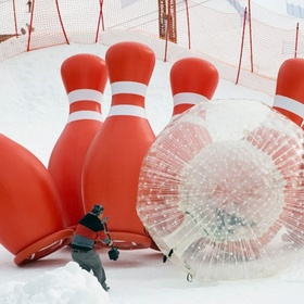 Play Human Bowling with a Zorb Ball - Bucket List Ideas