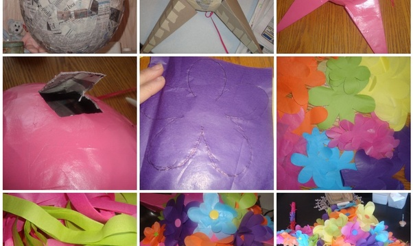 Make my own Piñata - Bucket List Ideas