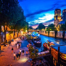 Walk along the Seine at night, Paris - Bucket List Ideas