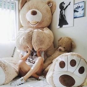 Receive a giant teddy bear - Bucket List Ideas
