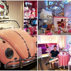 🍴 Eat at Hello Kitty House Bangkok, Thailand - Bucket List Ideas