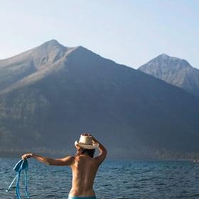 Swim Naked in Alaska - Bucket List Ideas