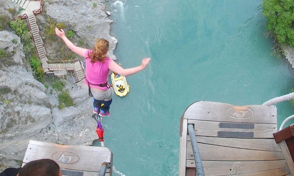 Bungy Jump - Bucket List Ideas