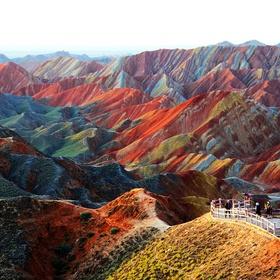 China - Zhangye Danxia Landform in Gansu - Bucket List Ideas