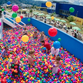 Go in a giant Ball Pit - Bucket List Ideas