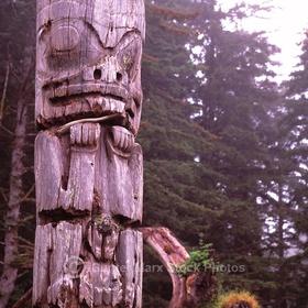 See the Haida Totem Poles in Gwaii Haanas National Park Reserve,British Columbia Canada - Bucket List Ideas
