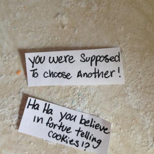 Make my own Fortune cookie - Bucket List Ideas