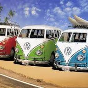 Hire a VW camper van - Bucket List Ideas