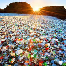 Go to Glass Beach in California - Bucket List Ideas