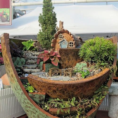 Make a miniature fairy garden - Bucket List Ideas