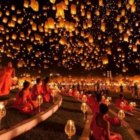 Go to the Pingxi Lantern Festival - Bucket List Ideas