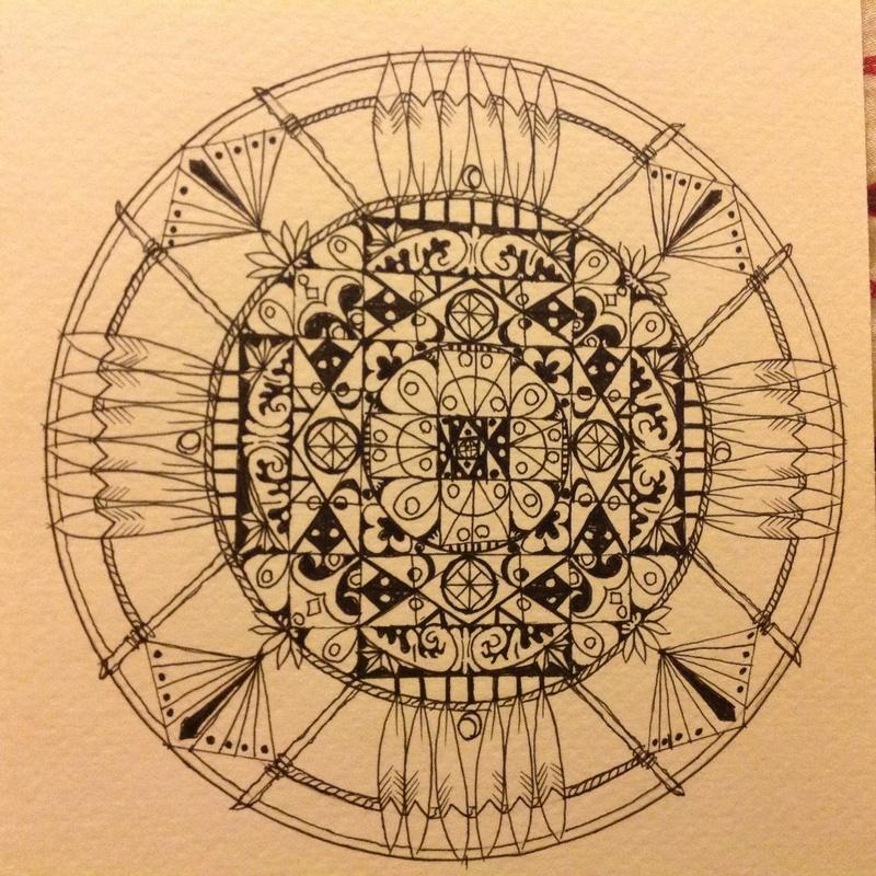 Bucketlist Draw My Own Mandala Official Bucket List