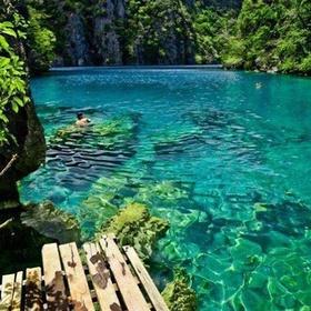 Swim in Kayangan Lake, Coron islands, Palawan, Philippines - Bucket List Ideas