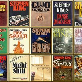 Read a Stephen King book - Bucket List Ideas