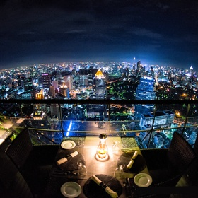 Have a Romantic Dinner on a Rooftop at Night - Bucket List Ideas