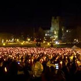 Be part of a candlelight vigil - Bucket List Ideas