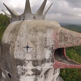 Visit Gereja Ayam, the Abandoned Chicken Church in Indonesia - Bucket List Ideas