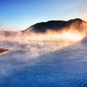 Soak in the hot springs in iceland - Bucket List Ideas