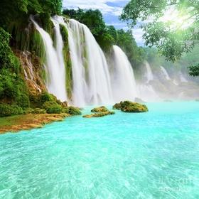 Shower in a Waterfall - Bucket List Ideas
