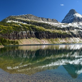 Swim in Hidden lake in Glacier National Park, Montana - Bucket List Ideas