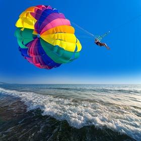 Go parasailing - Bucket List Ideas
