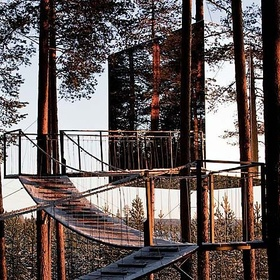 Stay at Tree Hotel in Sweden - Bucket List Ideas