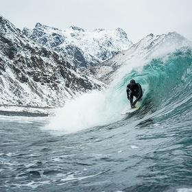 Experience Winter Surfing - Bucket List Ideas